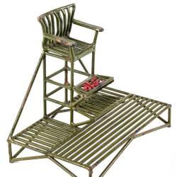 Miniature, Lifeguard Chair With Initials Jae