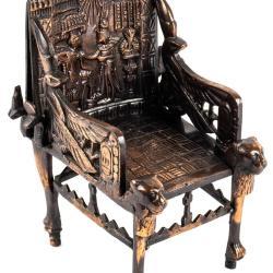 Miniature, King Tutankhamen Throne