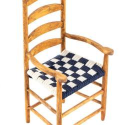 Miniature, Shaker-Style Slat-Back Chair