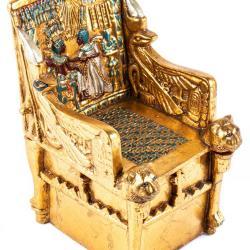 Miniature, Promotion for the King Tutankhamen Exhibition Chair