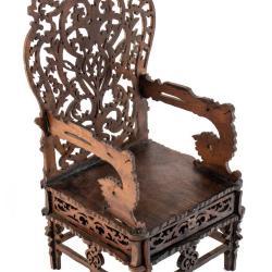 Miniature, Throne Chair