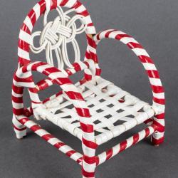 Miniature, Candy Cane Chair