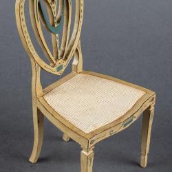 Miniature, Hepplewhite Style Chair