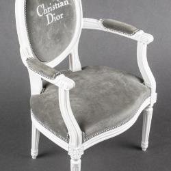 Miniature, Christian Dior Promotion Chair- Louis XVI-Style