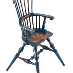 Miniature, Copy of a Fan-Back Windsor High Chair
