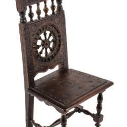 Miniature, High-Back Chair