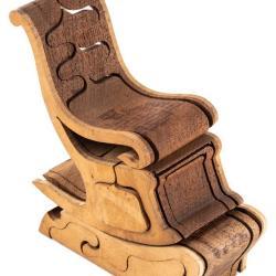 Miniature, Puzzle Rocker Chair