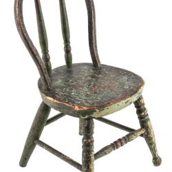 Miniature, Windsor-Style Side Chair