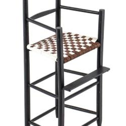 Miniature, Shaker-Style High Chair