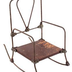 Miniature, Late Victorian/Edwardian Rocking Chair