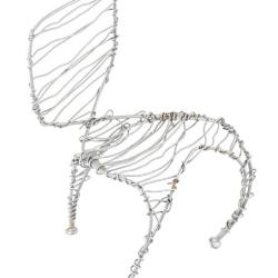 Miniature, Wire on Wire Chair