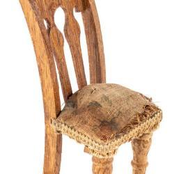 Miniature, Pierced Back Chair