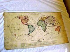 Map, World, 1828