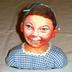 Decorated Egg Head Figures Or Bust, 2, Freckled Face Young Boy And Young Girl With Swim Cap