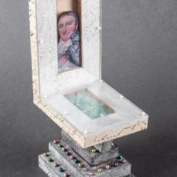 Miniature, Lft. Adolf Pinque Chair
