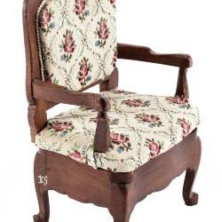 Miniature, Louis XV-Style Bergère Chair