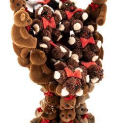 Miniature, Pedastal Teddy Bear Chair