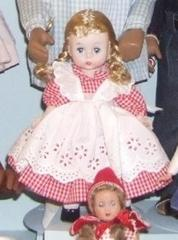 'alex' Doll In Red Gingham