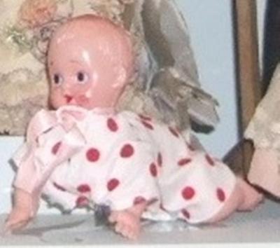 Doll, Mechanical Crawling Baby