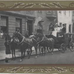 Photograph buggy and horses