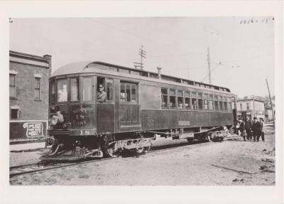 Photograph, Grand Rapids, Grand Haven and Muskegon Railway