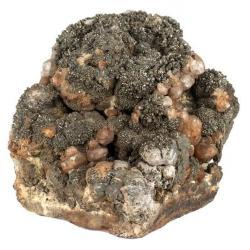 Chalcopyrite on Pyrite