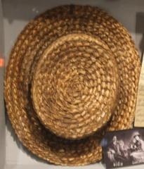Hat, Man's Straw