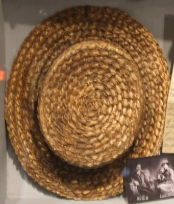 Hat, Man's Straw