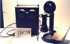 Telephone With Ringer Box And Pad