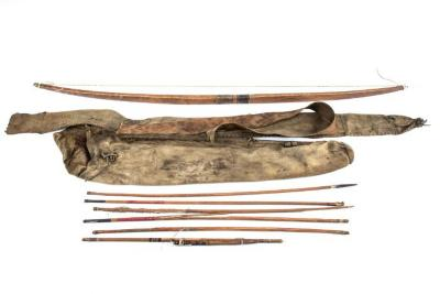 Quiver, Bow, and Arrow