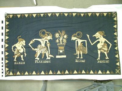 Batik, Wayang Figures