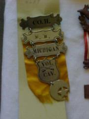 Insignia, Michigan Co. H. Volunteer Calvary Medal