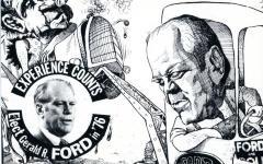 Postcard, Gerald R. Ford Political
