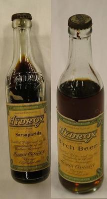 Bottles 2, Birch Beer,  Sarsaparilla