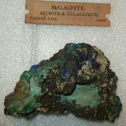 Azurite, Malachite, Melaconite