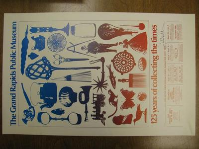 Poster, 125 Years Of Collecting The Times