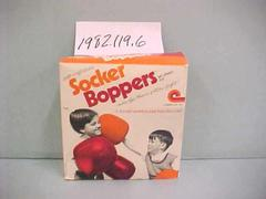 Socker Boppers Inflatable Toy Boxing Gloves In Box