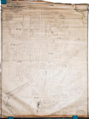 Map, 'the City Of Grand Rapids, Mich.'