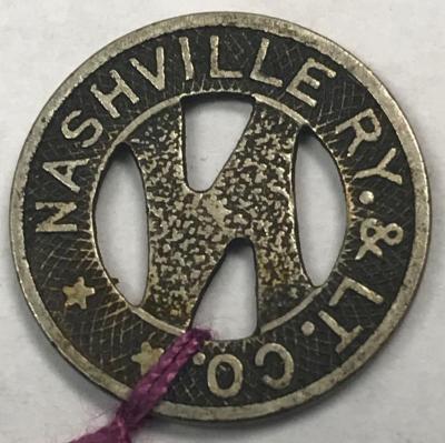 Token, Nashville Ry & Lt Co.
