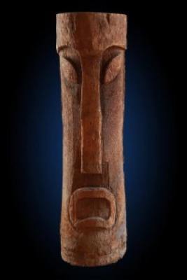 Primitive Palm Tiki - Apt Complex Décor