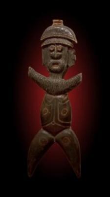 New Caledonian Wall Figure