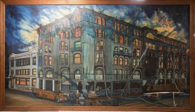 Painting, Livingston Hotel