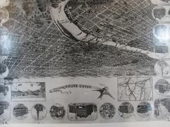 Birdseye Map, Grand Rapids