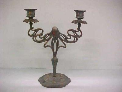 Art Nouveau Candedabra