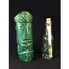 2005 Tiki Farm Ol' One Eyed Moai Mystery Treasure Map Tiki Mug