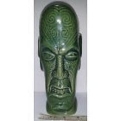 Tiki Farm BenZart Tall Green Tiki Mug