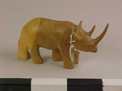 Figurine, Rhinoceros