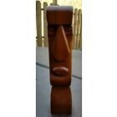 Easter Island Tiki Head