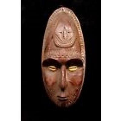 Sepik River New Guinea Gable Mask