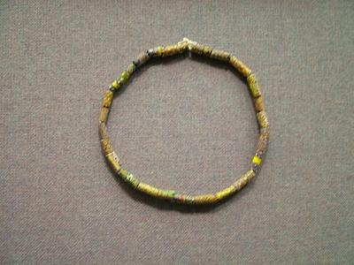 Necklace, Trade Beads (millefiori)